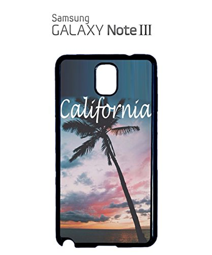 California United States Ameica USA View Cool Tree Mobile Phone Case Samsung Note 3 White Noir