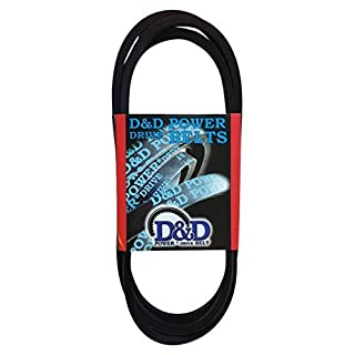D&D PowerDrive BT27 SEARS or ROPER or AYP Replacement Belt, 1 Number of Band, Rubber