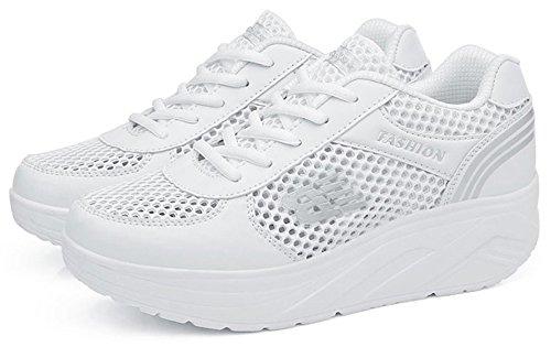 Jensen   Jensin Ladies Sneaker Scarpe Sportive Comode Per Il Tempo Libero Da  Corsa ... cd67e72c6b5