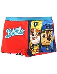 Paw Patrol, Bañador Boxer - Bañador para niños, color rojo