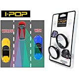 AutoSun® Geniune Adjustable Car Blind Spot Convex Side Rear View Mirror (CAR and Bikes)