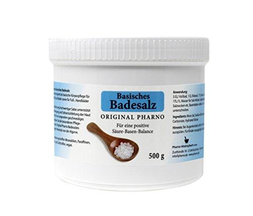 Basisches Badesalz - Original Pharno - 500g