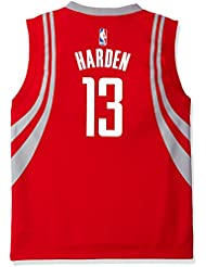 James Harden Houston Rockets Adidas NBA Replica Youth Jeunes Jersey - Red