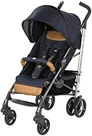 Chicco Lite Way 3 Top Stroller with Bumper Bar, Denim (0-3y)