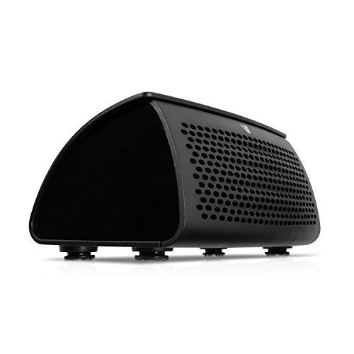 V7 Altavoz inalámbrico Bluetooth con NFC - Altavoces portátiles (Incorporado, 2.5W, 80 - 20000 Hz, NFC/Bluetooth/3.5mm, 3.0) negro