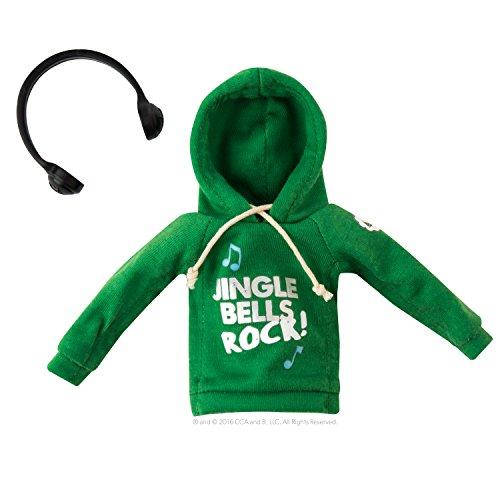 Elf auf dem Regal ccjjhoodie Hip Graphic Hoodie mit Kordelzug und Elf Kopfhörer