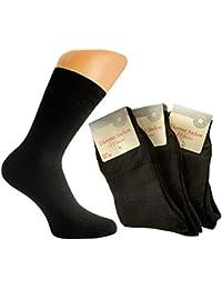 6 Paar Dicke Baumwoll Damen Thermo Socken mit Motiv farbig gemischt / Damenstrümpfe Vollfrottee / Damen Strümpfe