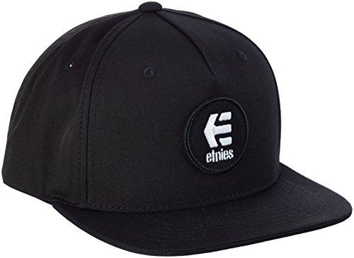 Etnies Herren Baseball Cap Schwarz Schwarz (Schwarz/Weiß) One size