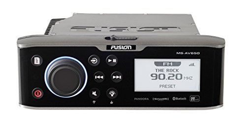 Fusion 650 Series Marine Entertainment System with DVD/CD Player