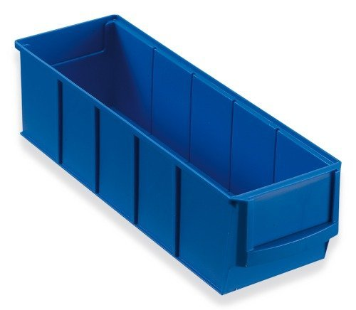 Preisvergleich Produktbild Industriebox blau 300x91x81 mm Stapelboxen Stapelbox Stapelkästen Stapelkasten universalboxen Lagerkisten Lagerkiste lagerbehälter kunststoffkisten Stapelkiste Stapelkisten aufbewahrungskiste aufbewahrungskisten kunststoffkiste Universalkiste