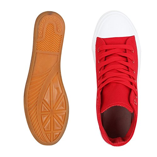 napoli-fashion - Pantofole a Stivaletto Donna Rot Basic