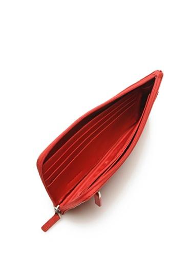 Piquadro Borsa Pochette Crayon Rosso