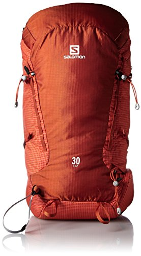 Salomon X Alp 30 Solar Orange/Tomato Red - Zaino, Unisex, Arancione, NS