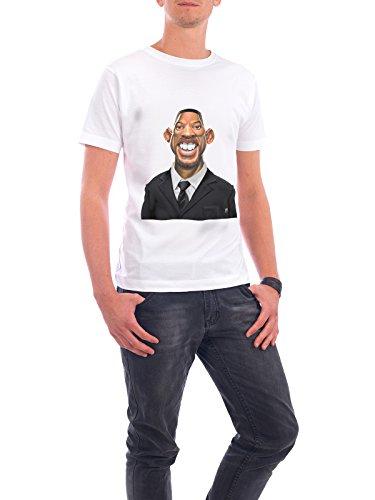 """Design T-Shirt Männer Continental Cotton """"Will Smith"""" - stylisches Shirt Film von Rob Snow Weiß"""