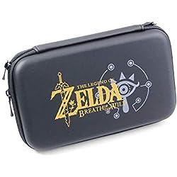 Sacoche de Rangement Rigide Antichoc pour Console de Jeu Nintendo New 3DS XL LL, 3DSXL 3DSXL 3DSLL, New3DS XL LL New3DSXL