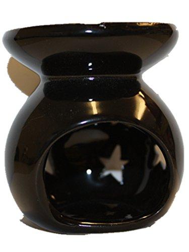 Keramik Ölbrenner Kerze Tart Wax Melt Aromatherapie Duft Günstige New, keramik, schwarz, 8*7*6cm