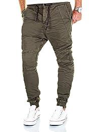 Jogg Jeans Herren Hose Biker Chino Denim Cargo Harem Jogger Sweathose Slim Pants