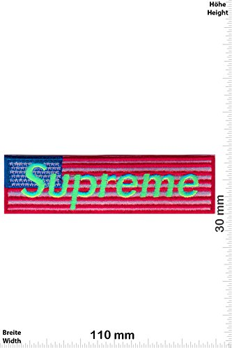 Parches   Supreme   USA   Neongreen  Cool Brands