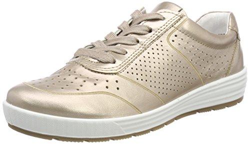 ARA Damen Nagano Sneaker, Gold (Platin), 41 EU