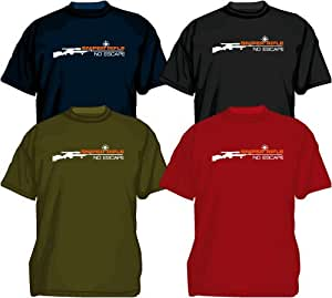 Sniper Rifle Counter Strike shooter T-Shirt, gamer, funny tee black S