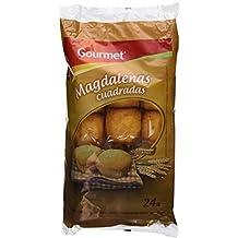 Gourmet - Magdalena Cuadrada, 24 unidades, 700 g