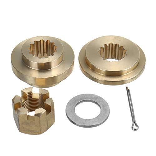 Wooya Propeller Hardware Kits Thrust Washer Spacer Nut Cotton Pin for Suzuki 40-65Hp -