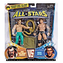 WWE All Star 2 Pack - Randy Orton und Jake the Snake Roberts Figuren
