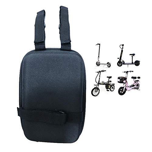 Jinclonder, Elektroroller Fahrrad Fronttasche, Mini Mountain Fronttasche Single Front Bag Wasserhahn Tasche für xiaomi m365 -