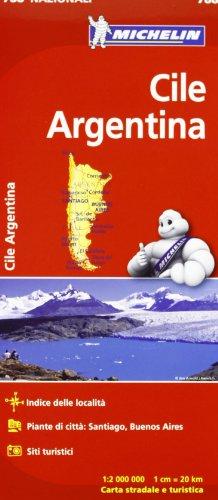 Cile, Argentina 1:2.000.000