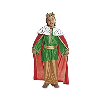 My Other Me Me – Disfraz de Rey mago, talla 1-2 años, color verde (Viving Costumes MOM00468)