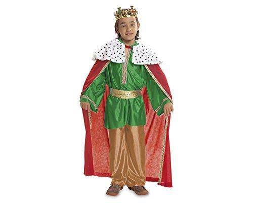 Imagen de my other me  disfraz de rey mago, talla 1 2 años, color verde viving costumes mom00468