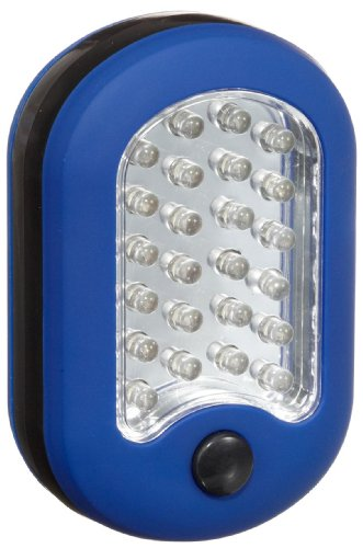 Preisvergleich Produktbild IWH 440267 LED-Multifunktionslampe 24 plus 3 LED's, blau