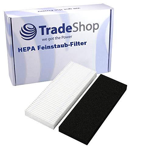 Hochwertiger Ersatz HEPA Feinstaub-Filter inklusive Schaumstofffilter für Ecovacs Deebot D62 D63 D65 D66 D68 D73 D77 D79 DT 62 63 63s 66 68 73 77 79 610 620 630 650 660 680