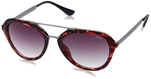 IDEE Gradient Square Unisex Sunglasses - (IDS2108C4SG|53|Smoke Gradient lens) image