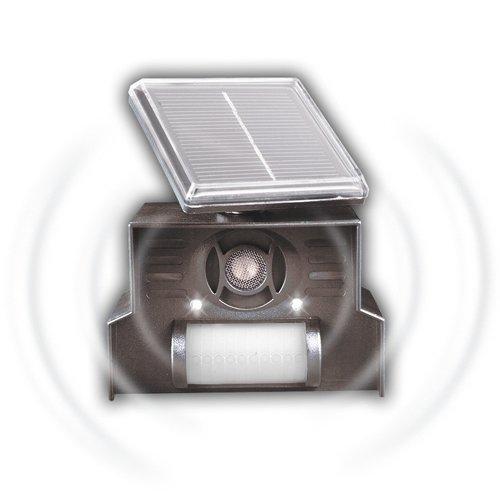 Gardigo Solar Hunde- und Katzenabwehr, Hundeschreck, Katzenschreck Ultraschall