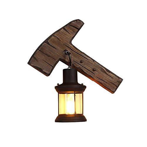 RENYAYA Industrial Retro-Metall-Lampenlicht-Bar-Café-Lampe Wandlampe Wohnmobil-Beleuchtung Korridor, Bar, Restaurant, Café, Club Retro-Dekorative Beleuchtung (E27 Lichtquelle)