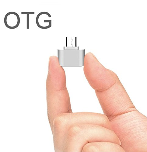 S5 Galaxy T-mobile-handys (KRS OTG3-Silber - USB OTG - otg Adapter Micro-USB-Stecker Typ B / USB-Kupplung Buchse Typ A OTG Android Roboter Robot -USB Adapter für Huawei Ascend Mate Mate 2 P6 P6S Samsung Galaxy S3 S4 S5 S6 S7 Note Sony Xperia Z1 L39h Z1 für Honami Mini Compact ZL L35i Tablet Z Honor 6 7 (OTG-3-Silber))