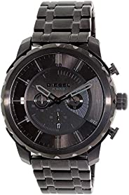 Diesel Black Stainless Black dial Watch for Men DZ4349