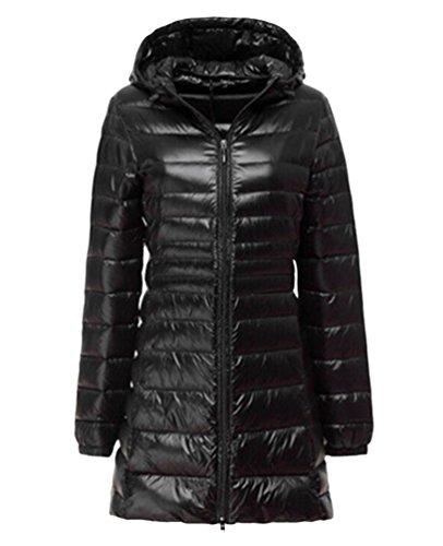 Zoom IMG-1 lvrao donna giacche di piuma