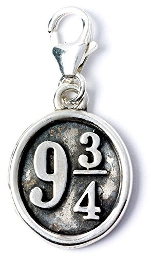 Harry Potter Clip On Charm Platform 9 3/4 (Sterling Silver) Carat Shop, The
