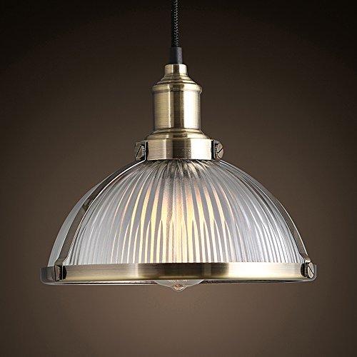 Nostralux 2016 Moderne Deckenlampe, skandinavischer Stil, Pendelleuchte, Glas, mit einem E27-Pendellampenhalter Glass, Aged Circular Brass Frame