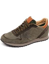 Sax E4604 Sneaker Uomo Green Scarpe Vintage Effect Shoe Man 037384882d9