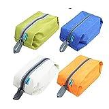 Set di 2 borse scarpe Protector impermeabile o viaggi sacchetto dell'organizzatore. Ideale per i viaggi. Colori casuali.
