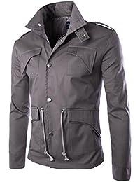 Abrigo,Vovotrade Hombres adelgazan la chaqueta de abrigo