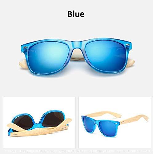 DongOJO Sonnenbrille Damen Herren Sonnenbrille Damen Classic Mirror Sun Glasses ShadesBlue