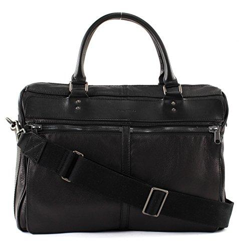Marc O'Polo Herren Business Bag Henkeltasche, 14x31x41 cm Schwarz (Black)