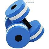 BonTime L'Exercice aérobie Eau Mousse haltères Piscine résistance Eau Fitness Exercices équipement pour Perdre du Poids
