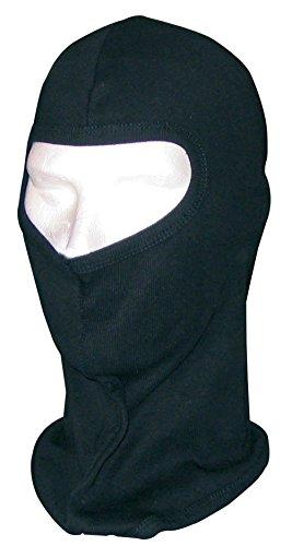 Sottocasco protettivo moto in cotone nero taglia unica