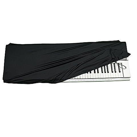 """Dehnbare Keyboard Staubschutzhülle Für Keyboards Mit 61-76 Tasten: Am Besten Geeignet Für Alle Digitalen Klaviere & Konsolen.– Kostenloses Klavierakkorde E-Book – 41""""×16""""×6"""""""