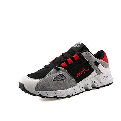ZXCV Chaussures de plein air Men's Canvas Chaussures de sport en plein air Men's Shoes ( Couleur : B , taille : 41 ) B